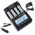 everActive NC-3000 4-kanālu Ni-MH akumulatoru lādētājs