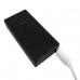 Black USB Plasma Lighter, Rechargeable Windproof Flameless Lighter