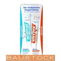 Der Medizinische Doppel-schutz Aronal + Elmex toothpaste, 2x 75ml