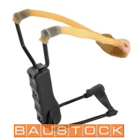 Professional slingshot with wrist support, P1766