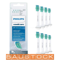 8x Original Replacement Toothbrush Brush Heads compatible with Philips Sonicare electric toothbrushes HX6018, 8 pc.
