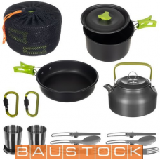 Portable kitchen set for two, DS-308