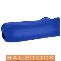 Self-inflating sunbed, air bed, sofa, mattress, blue