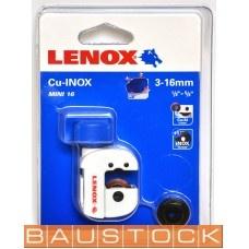 Griešanas ierīce caurulēm Lenox Mini 3-16mm