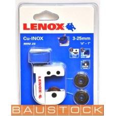 Griešanas ierīce caurulēm Lenox Mini 3-25mm