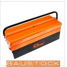 Darbarīku kaste, metāla, ar 3 nodalījumiem 430mm