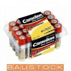 Alkaline baterijas AAA LR03 24 gab.