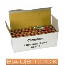 Alkaline baterijas AAA LR03 60 gab.
